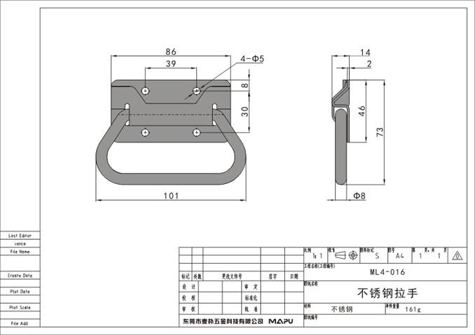 专业的不锈钢折叠接手生产厂家