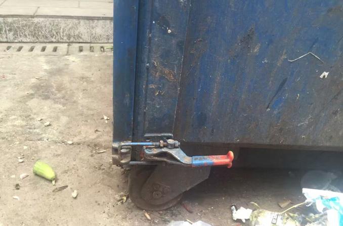 环卫保洁车不锈钢搭扣锁